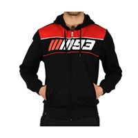 Marquez 2016 93 hoodie in black / red