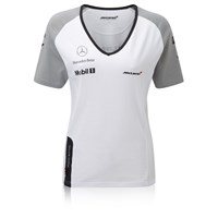 McLaren Ladies Button t-shirt