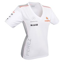 Vodafone McLaren Mercedes Perez ladies T-shirt