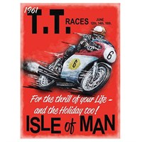 Isle Of Man 1961 TT Races sign
