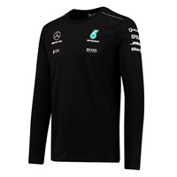 Mercedes AMG 2017 Long Sleeve T-Shirt Black