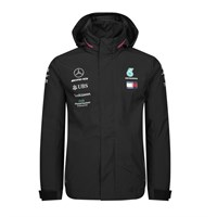 Mercedes-AMG Petronas Motorsport 2019 rain jacket in black