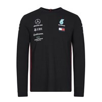 Mercedes-AMG Petronas Motorsport 2019 long sleeve Driver T-shirt in black