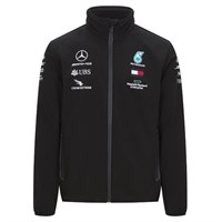 Mercedes-AMG Petronas Motorsport 2020 Team soft shell jacket in black
