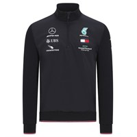 Mercedes-AMG Petronas Motorsport 2020 Team zip jumper in black