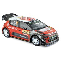 Citroen C3 WRC - 1st 2017 Rally Spain - #7 K. Meeke 1:18