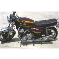Minichamps Benelli 750 Sei 1975 - Dark Red 1:12