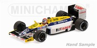 Minichamps Williams FW11 - 1st 1986 Hungary Grand Prix - #6 N. Piquet 1:43