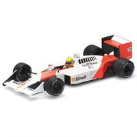 Minichamps McLaren MP4/4 - 1st 1988 British Grand Prix - #12 A. Senna 1:43