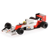 Minichamps McLaren MP4/5B - 1st 1990 Canadian Grand Prix - #27 A. Senna 1:43