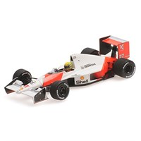 Minichamps McLaren MP4/5B Elevated Nose Cone Test Car - 1990 Monza - A. Senna 1:43
