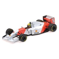 McLaren MP4/8 - 1st 1993 European Grand Prix - #27 A. Senna 1:43