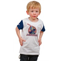 Dani Pedrosa kids Logo T-shirt in white