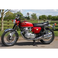 Minichamps Honda CB 750 K0 1968 - Red Metallic 1:6