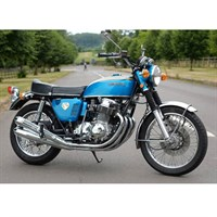 Minichamps Honda CB 750 K0 1968 - Blue Metallic 1:6