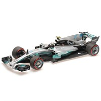 Minichamps Mercedes F1 W08 - 2017 Mexican Grand Prix - #77 V. Bottas 1:18