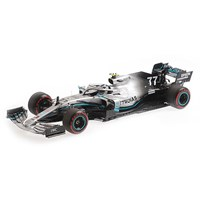 Minichamps Mercedes F1 W10 - 2019 British Grand Prix - #77 V. Bottas 1:18