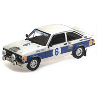 Minichamps Ford RS 1800 - 1st 1977 Acropolis Rally - #6 B. Waldegaard 1:18
