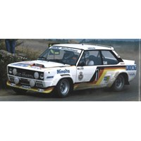 Minichamps Fiat 131 Abarth - 1st 1979 Hunsruck Rally - #1 W. Rohrl 1:18