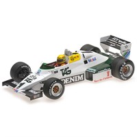Williams FW08C - 1983 Donington Park Test - #1 A. Senna 1:18