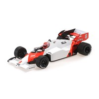 Minichamps McLaren MP4/2 - 1984 Portuguese Grand Prix - World Champion - #8 N. Lauda 1:18