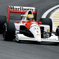 Minichamps McLaren MP4/6 - 1991 Formula One World Champion - #1 A. Senna 1:18