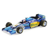 Minichamps Benetton B195 - 1st 1995 British Grand Prix - #2 J. Herbert 1:18