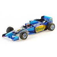 Minichamps Benetton B195 - 1st 1995 Pacific Grand Prix - #1 M. Schumacher 1:18