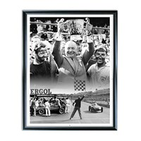 A Very British Affair - signed Sir Stirling Moss and Tony Brooks photographic print