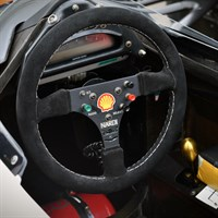 Minichamps McLaren MP4/6 Steering Wheel - 1991 - #1 A. Senna 1:2