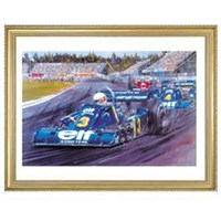 Signed Jody and the Six-Wheeler print