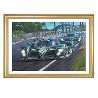 Signed Bentley Invincible. Le Mans 2003 print