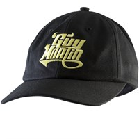 Red Torpedo Guy Martin Retro Racing cap in black