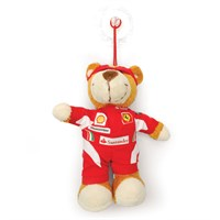 Ferrari team stick-on window teddy