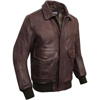Schott Brown Pilot Jacket LC5331X