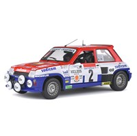 Solido Renault 5 Turbo - 1st 1983 Antibes Rally - #7 J-L. Therier 1:18