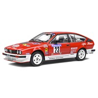 Solido Alfa Romeo GTV6 - 1985 Rally France - #23 Y. Loubet 1:18