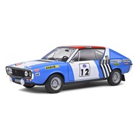 Solido Renault R17 Gordini - 1st 1974 Press On Regardless Rally - #12 J-L. Therier 1:18