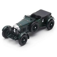 Spark Bentley Speed Six - 1st 1930 Le Mans 24 Hours - #4 1:18