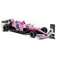 Spark Racing Point RP20 w. Pit Board - 1st 2020 Sakhir Grand Prix - #11 S. Perez 1:18