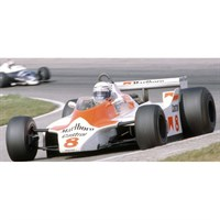 Spark McLaren M30 - 1980 Dutch Grand Prix - #8 A. Prost 1:43
