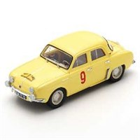 Spark Renault Dauphine - 1st 1956 Corsica Rally - #9 G. Thirion 1:43