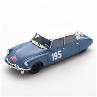 Spark Citroen DS 19 - 1963 Monte Carlo Rally - #195 B. Neyret 1:43