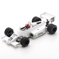 Spark Arrows A6 - 1983 French Grand Prix - #29 M. Surer 1:43