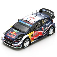 Spark Ford Fiesta WRC - 1st 2018 Rally Great Britain - #1 S. Ogier 1:43