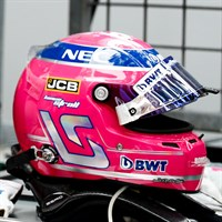 Spark Lance Stroll Racing Point Helmet - 2019 1:5