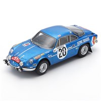 Spark Alpine A110 - 1st 1971 Monte Carlo Rally - #28 O. Andersson 1:43