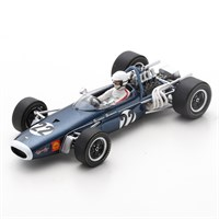 Spark Brabham BT11 - 1968 South African Grand Prix - #22 D. Charlton 1:43