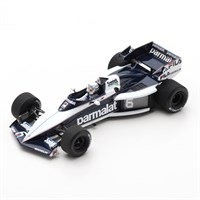 Spark Brabham BT52B - 1st 1983 South African Grand Prix - #6 R. Patrese 1:43