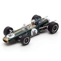 Spark Brabham BT19 - 1st 1966 Dutch Grand Prix - #16 J. Brabham 1:43